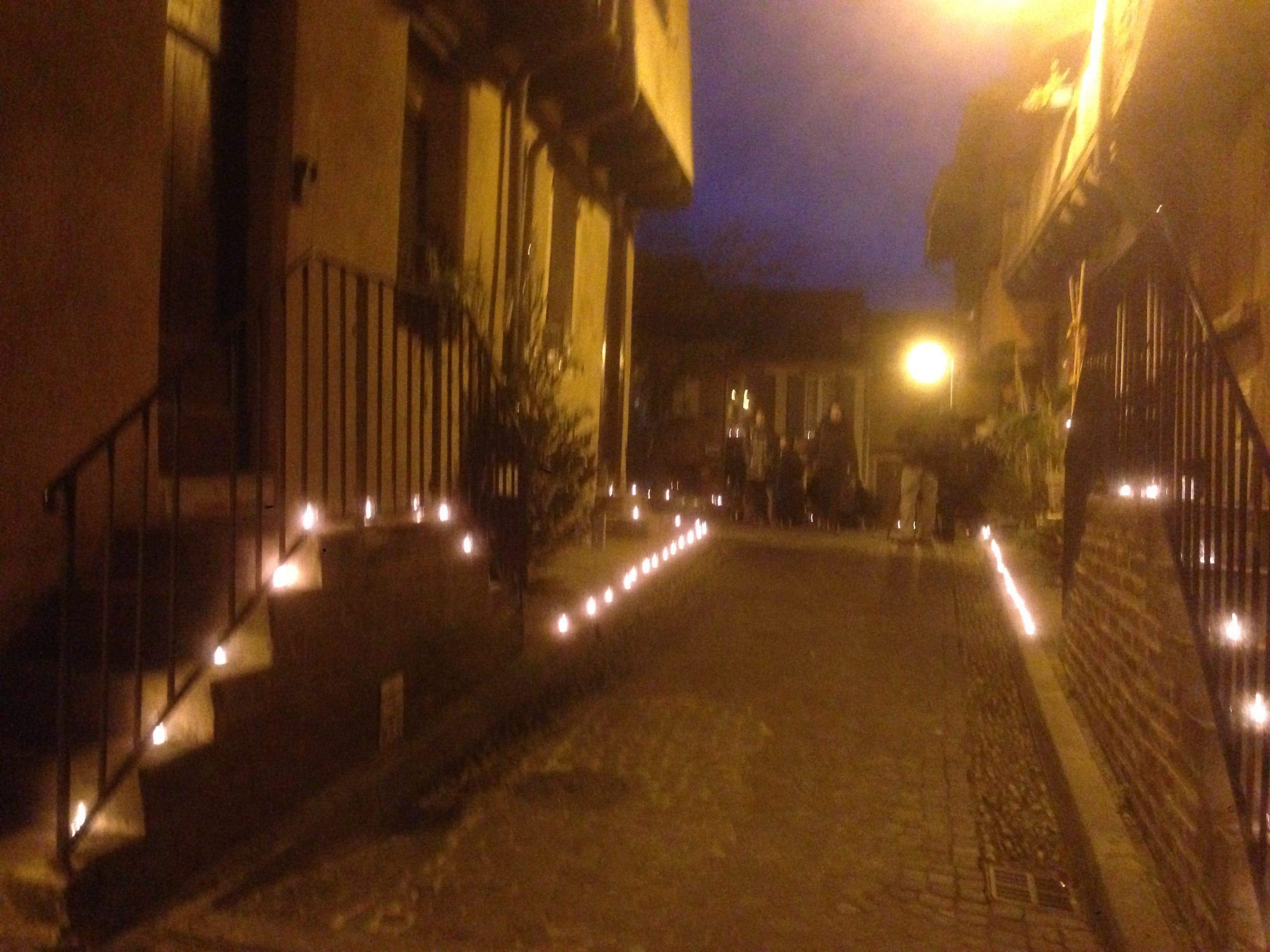 Fête de la lumière 2015 place Savène